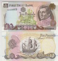 Ireland 10 Pound (1998) Pick 136a UNC - Irlanda