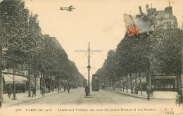 Dép 75 - Tramways - Tramway - Paris - Arrondissement 11 - Boulevard Voltaire Aux Rues Alexandre Dumas Et Des Boulets - Distretto: 11