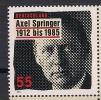 2012  Deuschland  Allem. Fed. Mi.2927 **MNH  Axel Springer - [7] Repubblica Federale