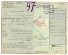 619 België Spoorwegen  Document Stempel HERENTALS En BRUGGE - 1952-....
