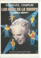"""E 509 - CHARLIE CHAPLIN  """" LES FEUX DE LA RAMPE """"    -  ( Déssin: LEO KOUPER """"  ) - Actors"""
