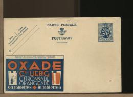 BELGIE - Ganzsachen - Cartolina Intero Postale - OXADE - LIEBIG - CITRONNADE - ORANGEADE - LIMONATA - ARANCIATA - Stamped Stationery