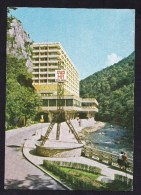 Romania: PPC Picture Postcard: Baile Herculane, Hotel Roman, 1978 (traces Of Use) - Roemenië
