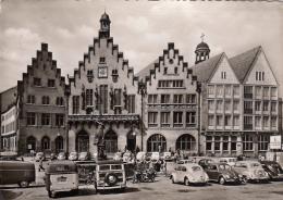GERMANY - Frankfurt Am Main 1957 - Der Romer - Automotive - Frankfurt A. Main