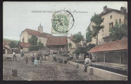 CPA 25 Pierrefontaine Place De La Fontaine - Altri Comuni