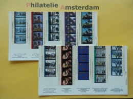Canada 1996, FILM MOVIES KINO CINEMA: Mi 1584-93, Bl. 18-19, ** - Cinema