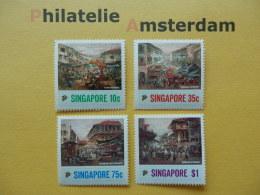 Singapore 1989, ARTS PAINTINGS: Mi 569-72, ** - Singapore (1959-...)