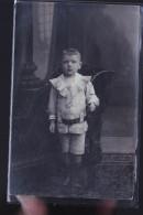 SENEFFE CARTE ENFANT D UN PRISONNIERS DE GUERRE 1915 POUR COLINET HECTOR MUNSTER ALLEMAGNE - Seneffe
