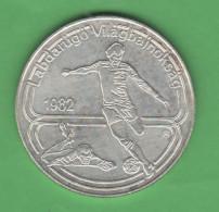 Ungheria 100 Fiorini 1982 Football - Ungheria