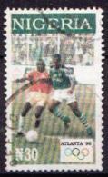 Nigeria Used Stamp - Summer 1996: Atlanta