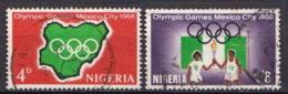 Nigeria Used Set - Summer 1968: Mexico City