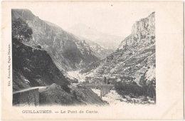 06. GUILLAUMES. Le Pont De Cante - France