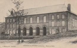 08 Aubigny Les Pothées  Mairie Et Halle (n'est Pas Sur Delcampe) - Otros Municipios