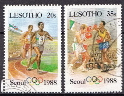 Lesotho Used Stamps - Summer 1988: Seoul