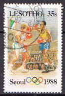 Lesotho Used Stamp - Summer 1988: Seoul