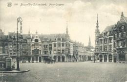 190 BRUXELLES-SCHAERBEEK : Place Colignon - Cachet De La Poste 1912 - Schaarbeek - Schaerbeek
