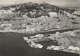CPSM Sete - Vue Aérienne Du Vieux Port Et Du Mont Saint-Clair - Sete (Cette)