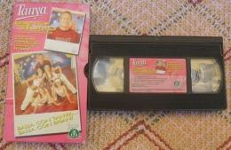 VHS VIDEOCASSETTA TANYA DANCE STUDIO PER IMPARARE TANTE COREOGRAFIE CON BRIAN - - Cassettes Vidéo VHS