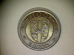 Ghana 100 Cedis 1991 - Ghana