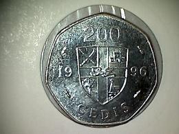 Ghana 200 Cedis 1996 - Ghana