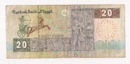 EGYPT 20 POUNDS - Egipto