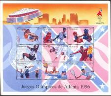 NICARAGUA SHEET JEUX OLYMPIQUES OLYMPIC GAMES OLIMPIADAS ATLANTA 96 SPORTS DEPORTES - Ete 1996: Atlanta