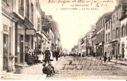 29 PONT L ABBE La Rue De Kereon - Pont L'Abbe