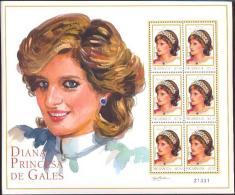 NICARAGUA SHEET DIANA ROYALTY - Royalties, Royals