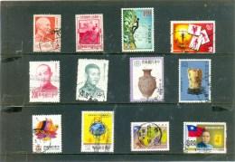 12 Différents De TAIWAN - Voir Scan Pour Qualité - Taiwán (Formosa)