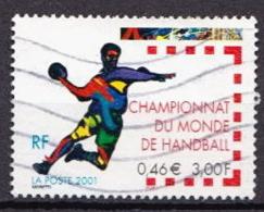 France Used Stamp - Handball