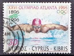Cyprus Used Stamp - Summer 1996: Atlanta