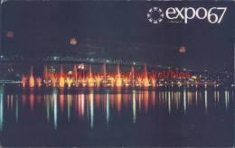 Feerie Des Eaux. Expo 1967. - Montreal