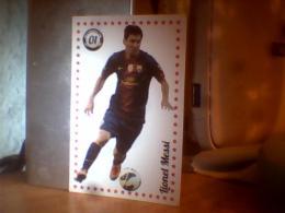 CARD FOOTBALL LIONEL MESSI; YAYA TOURE - Bierviltjes