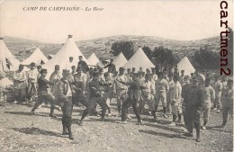 CAMP DE CARPIAGNE LA BOXE CAMP MILITAIRE GUERRE SPORT 13 - Unclassified