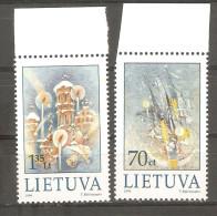 Serie Nº 628/9  Lituania - Lithuania