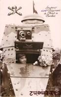 TANK CHAR D'ASSAUT SOUVENIR DU 505e REGIMENT DE CHARS DE COMBAT RCC TANKISTE A VANNES - Ausrüstung