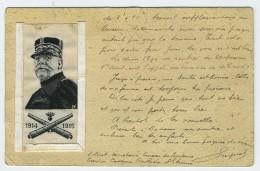 CP CORRESPONDANCE MILITAIRE 1905  SECRETAIRE DU CAPITAINE CASERNE RULLIERE SAINT ETIENNE LOIRE - Barracks