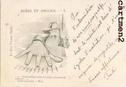 GUERRE DE BOERS TRANSVAAL PRETORIA KRUGER AFRIQUE DU SUD SOUTH AFRICA NEDERLAND 1900 BOER POLITIQUE - Zuid-Afrika