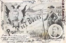 BOERS WAR KING GEORGES V TRANSVAAL PRETORIA KRUGER AFRIQUE DU SUD SOUTH AFRICA ENGLAND NEDERLAND - South Africa