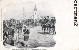 BOERS WAR INSPECTION OF COMMANDO TRANSVAAL PRETORIA KRUGER AFRIQUE DU SUD SOUTH AFRICA NEDERLAND - South Africa