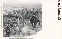 BOERS WAR BRITISH ARTILLERY ILILLUSTRATEUR TRANSVAAL PRETORIA KRUGER AFRIQUE DU SUD SOUTH AFRICA NEDERLAND - South Africa