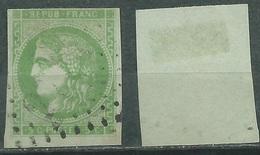 FRANCE Yvert # 2 (o) Oblitere - 1849-1850 Ceres