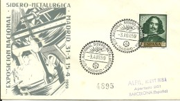 POSTMARQUET 1959 ESPAÑA - Fábricas Y Industrias