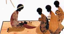 Carmel Nyaammirambo, Feuille De Bananer, Creche Et Rois Mages - Rwanda