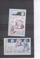 """MALI - Espace - 20 Ans Du Premier Homme Sur La Lune : Astronautes Et """"Skilab"""" Sur Le Sol Lunaire - - Mali (1959-...)"""