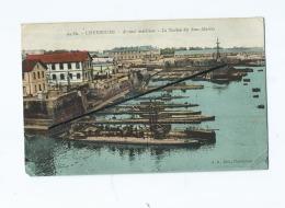 CPA -  Cherbourg  -  Arsenal Maritime  - La Station Des Sous Marins - Cherbourg