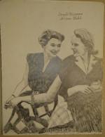 Dessin Au Crayon-Illustrateur -Ingrid Bergman, Née Le 29 Août 1915 à Stockholm Ann Todd Est Une Actrice Anglaise (5) - Dessins