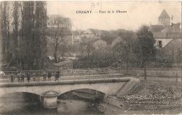 CHAGNY  Pont De Dheune  Timbrée TB - Chagny