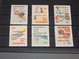 Nicaragua - 1964 Tokyo Overprints MNH__(TH-7383) - Nicaragua