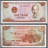 VIET NAM  :  200  Dong  Del  1987   Pick 100a   FdS  UNC - Vietnam